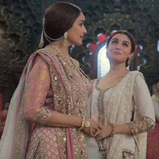Alia Bhatt on performing with Madhuri Dixit: Was lucky it wasn't a dance off in Kalank's Ghar More Pardesiya