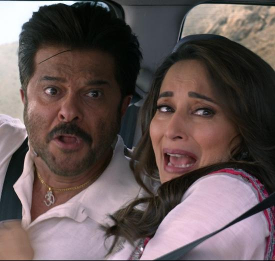 Total Dhamaal: Anil Kapoor and Madhuri Dixit are the real stunt guys for the film? See pictures