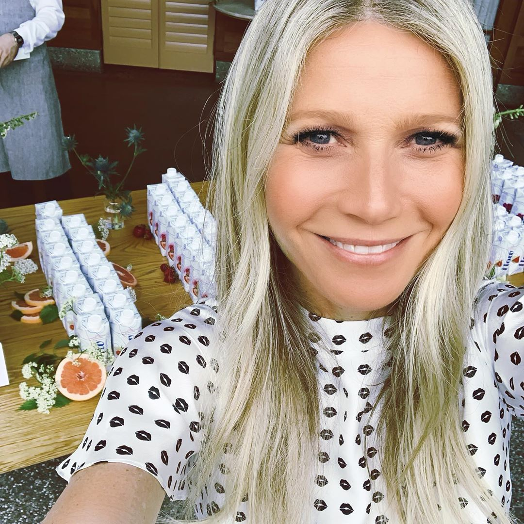 Gwyneth Paltrow describes herself as a lame old white lady