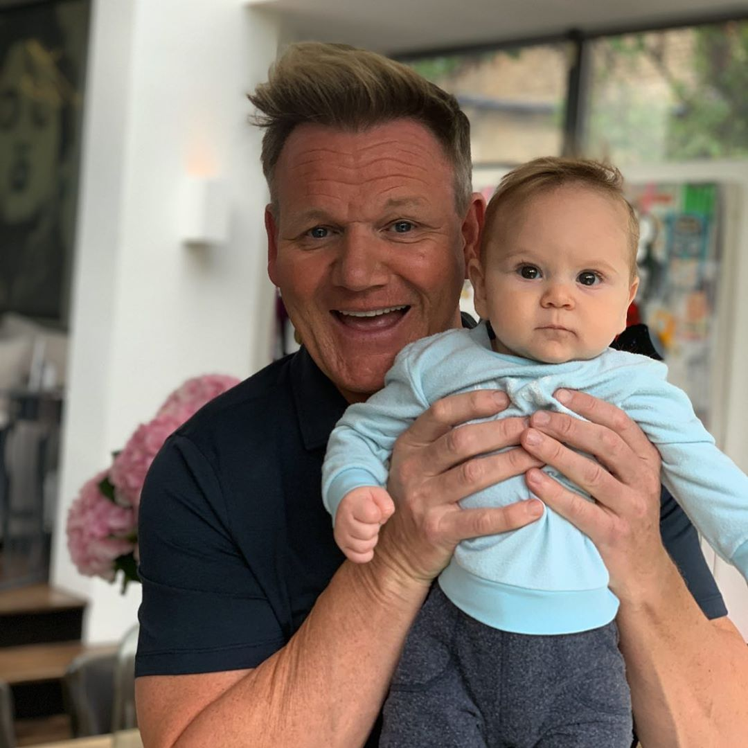 Gordon Ramsay says he fainted at his child's birth