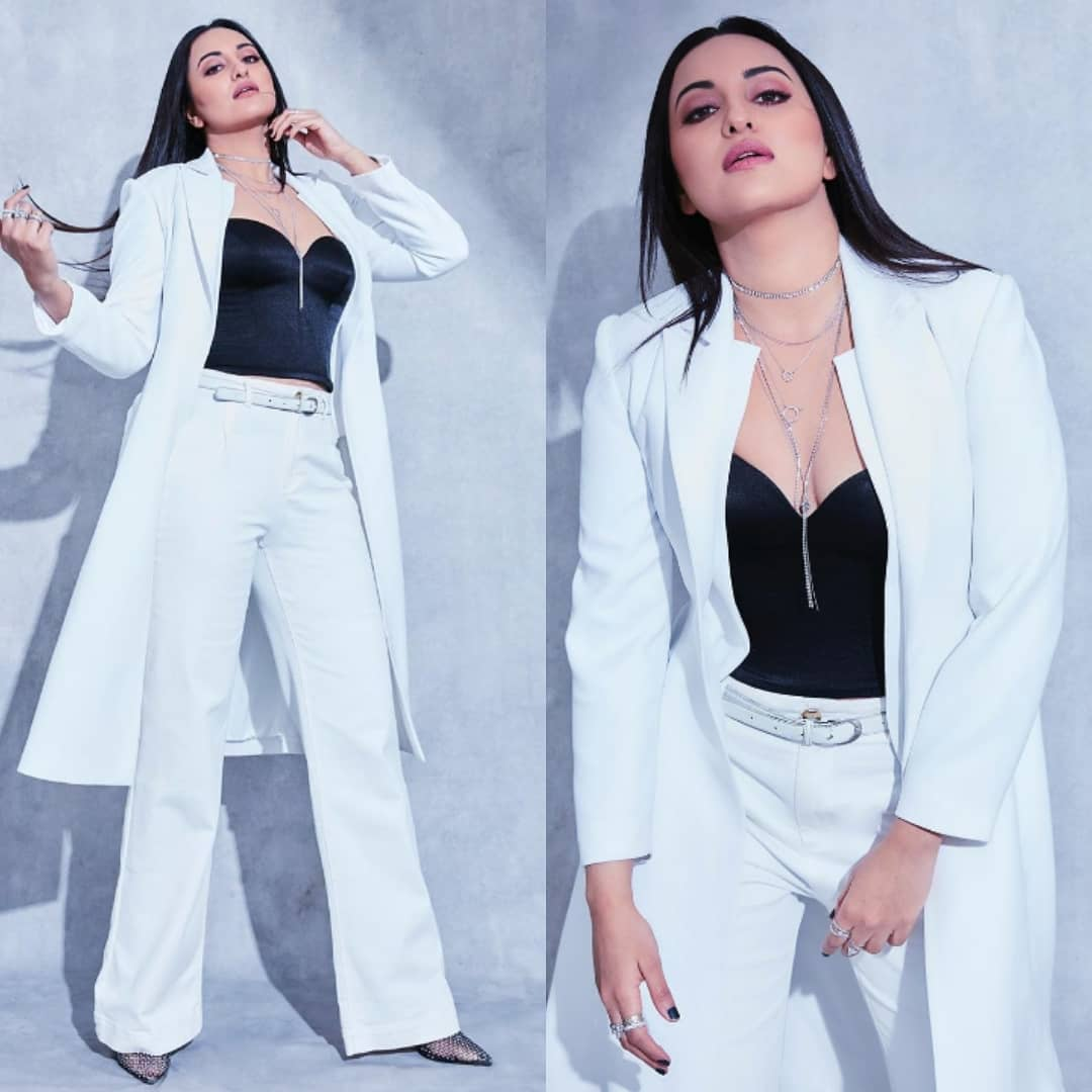 Sonakshi Sinha in a Studio NK monochromatic outfit makes sure all eyes are on her: Yay or Nay?