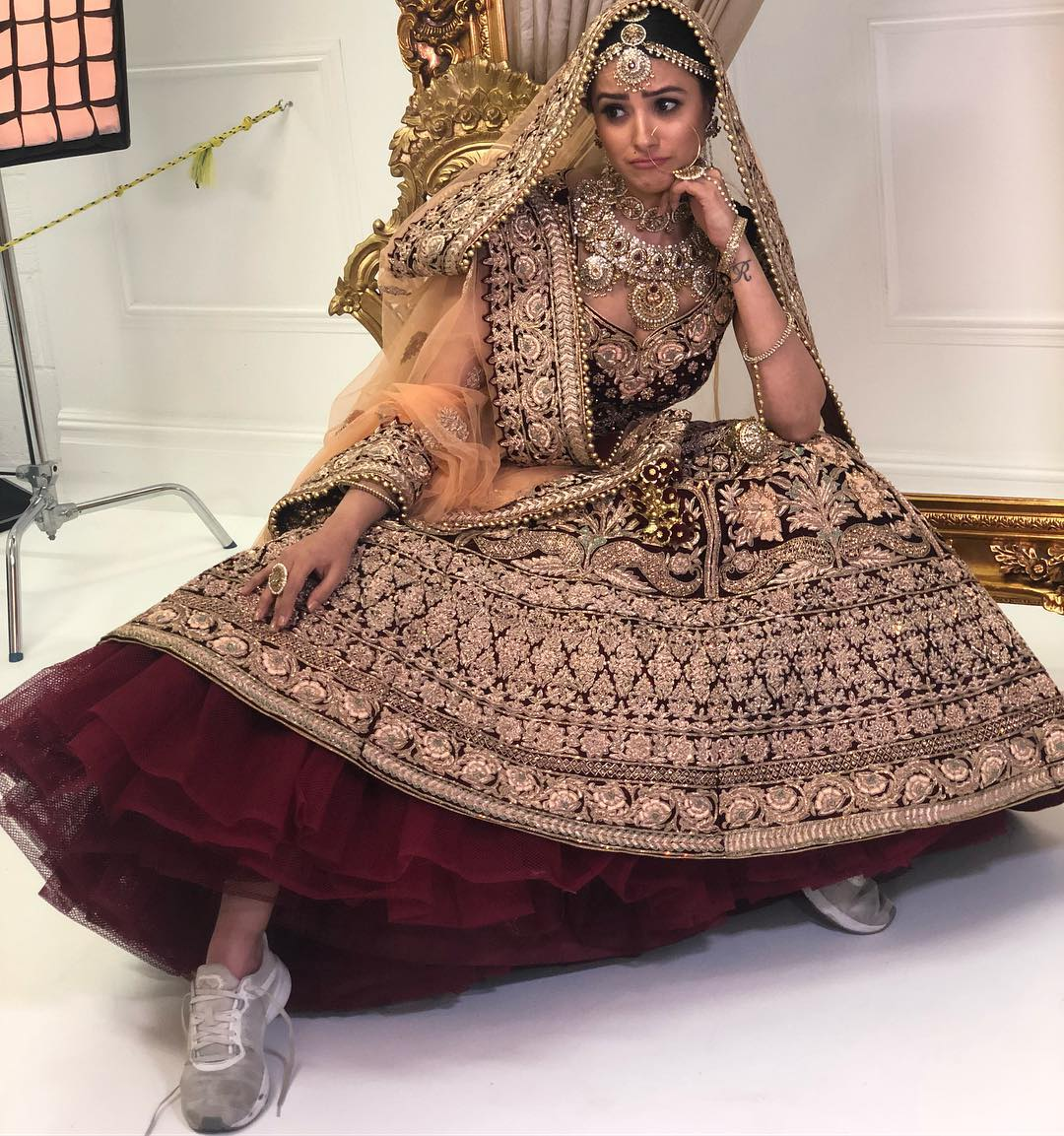 Anita Hassanandani as a runaway bride is a vision out of our dream ...