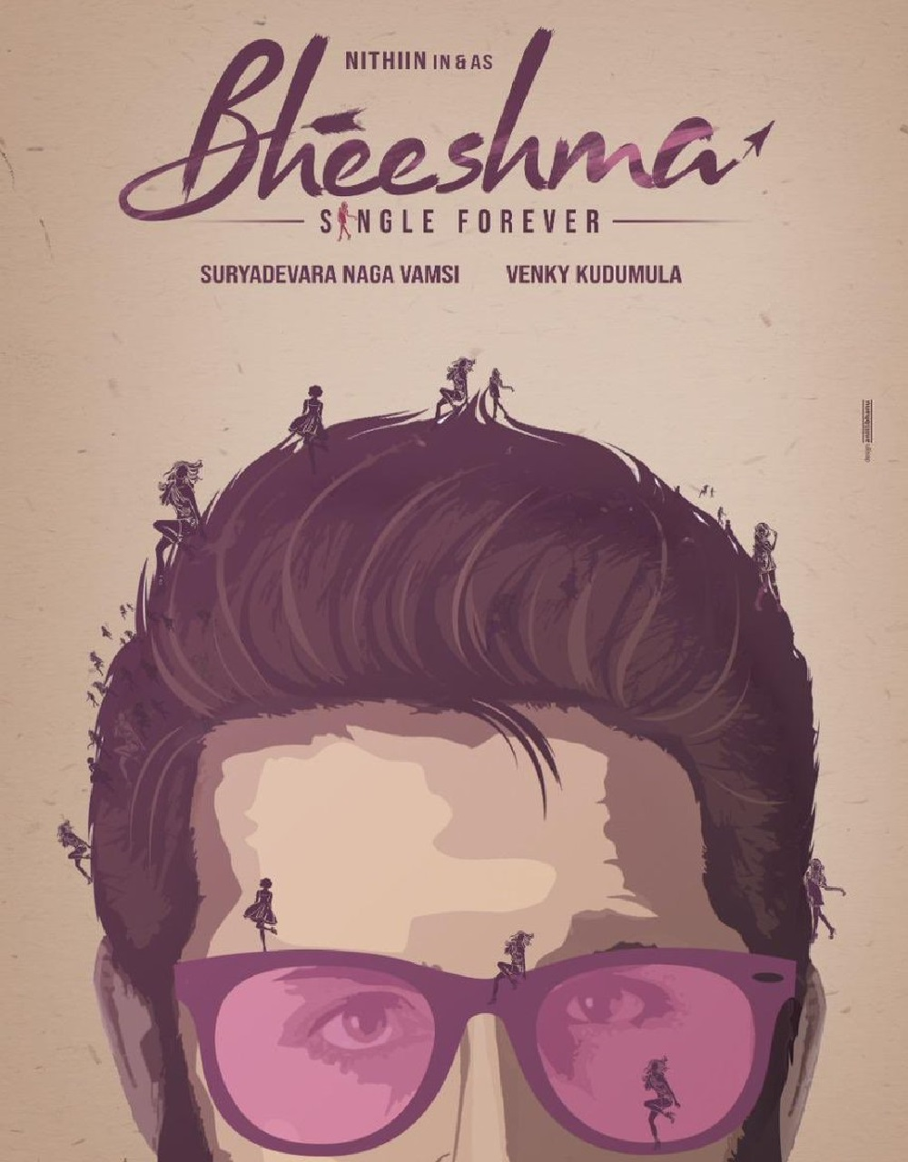 Bheeshma Poster Out Nithiin Might Not Remain Single Forever In This Romantic Comedy With Rashmika Mandanna Pinkvilla
