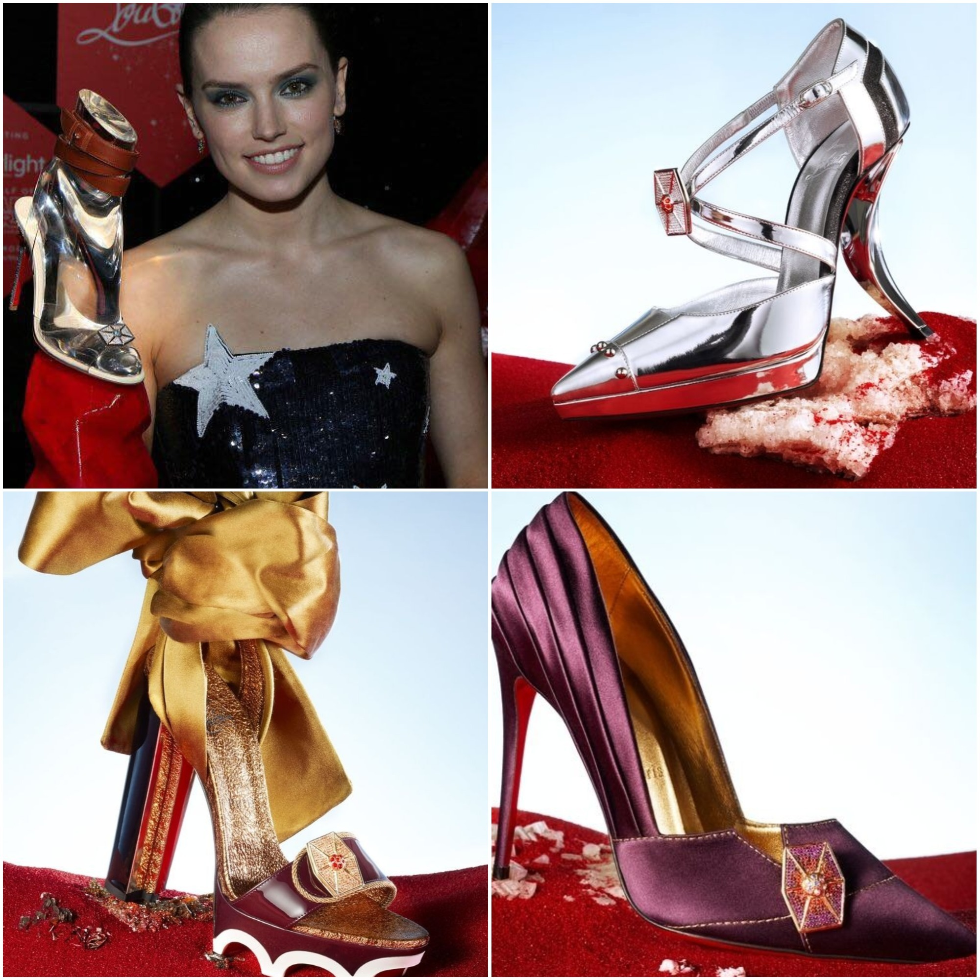 d0b7332a53bc ... coupon christian louboutin launches star wars inspired shoes dedicated  to the four heroines of the movie