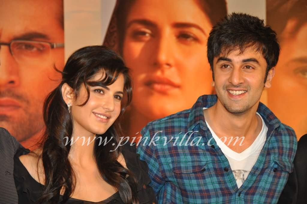 Katrina Kaif Arjun Rampal Ranbir Kapoor At A Rajneeti Press Meet