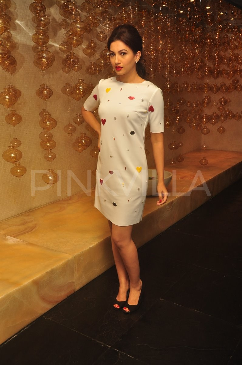 Gauahar Khan at the launch of a beauty product | PINKVILLA