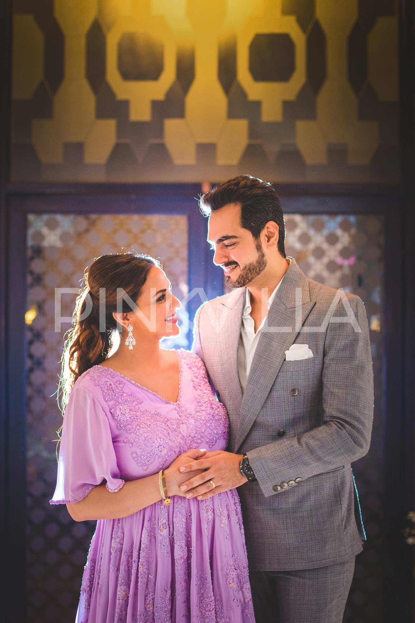 Esha Deol s sister Ahana Deol throws a surprise lavender themed baby