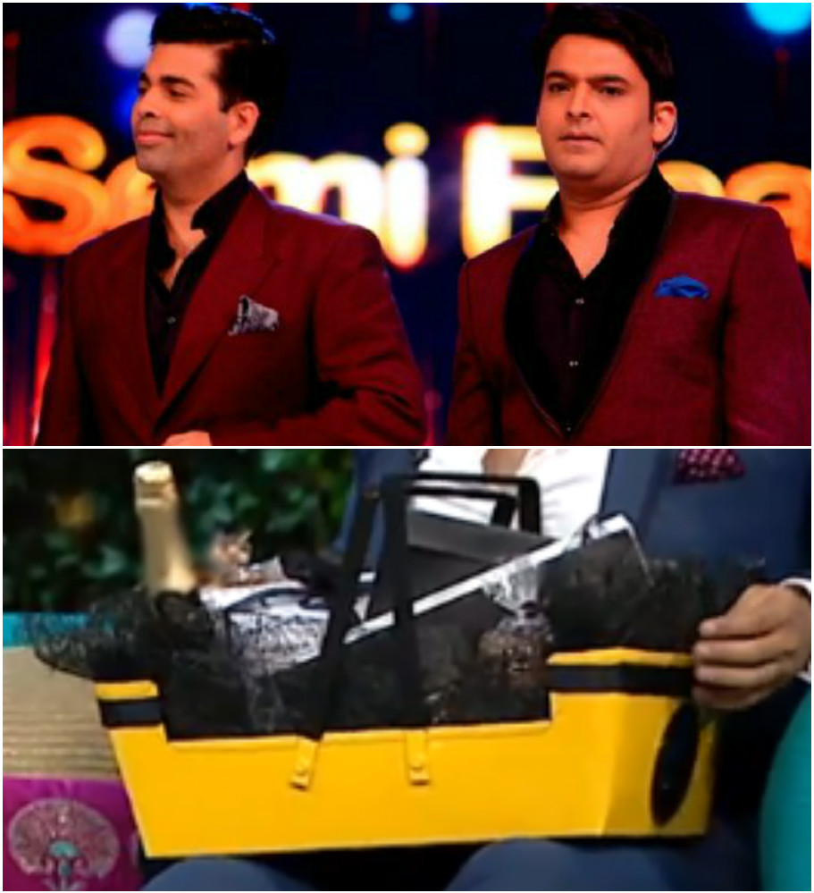 This Is What The Celebs Actually Fought For, Find Out Whats In The COFFEE HAMPER on Koffee With Karan. 5