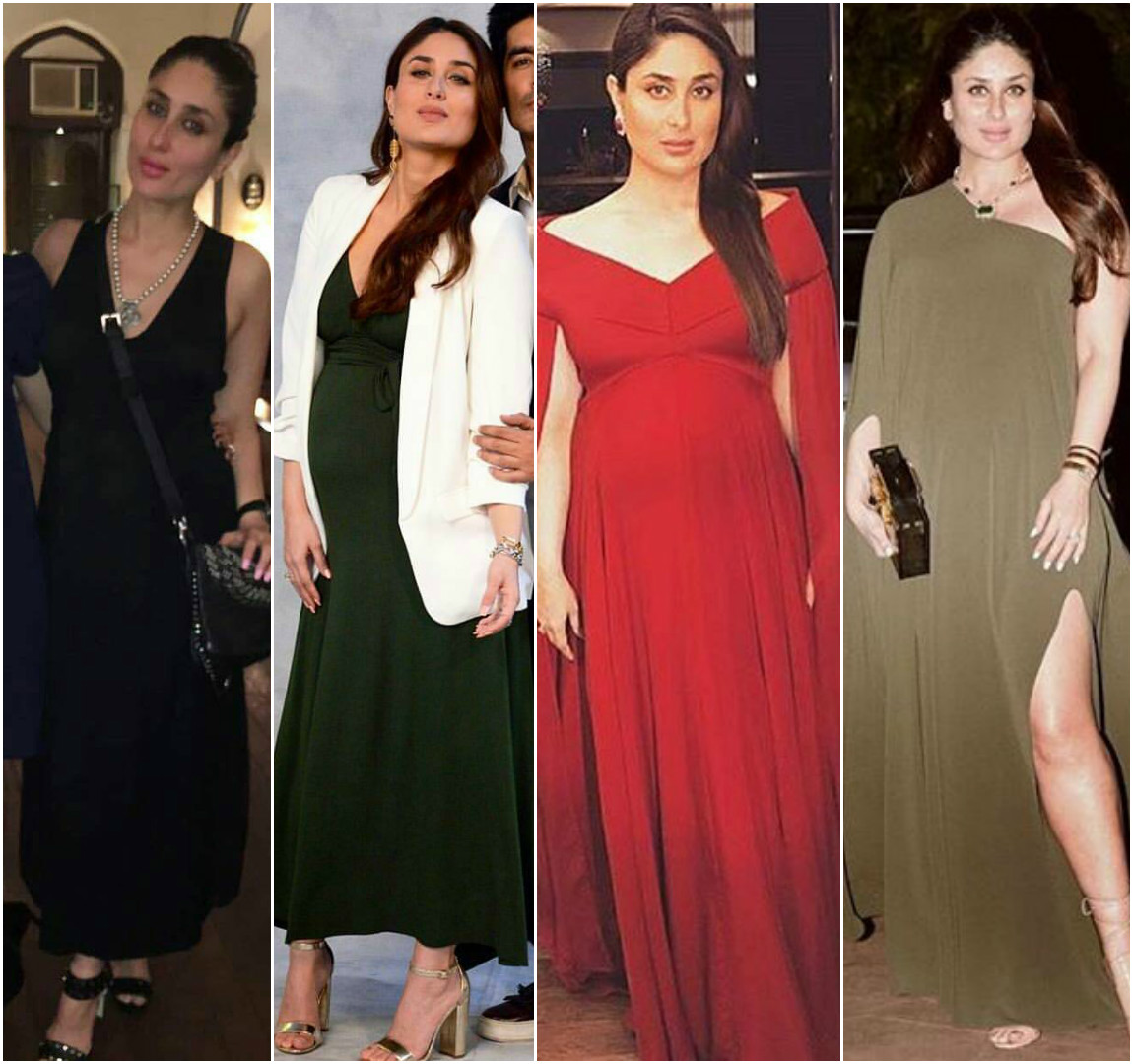 30b4d7fac82d8 Kareena Kapoor Khan shows us how to dress for those fancy holiday parties  while you're pregnant! | PINKVILLA