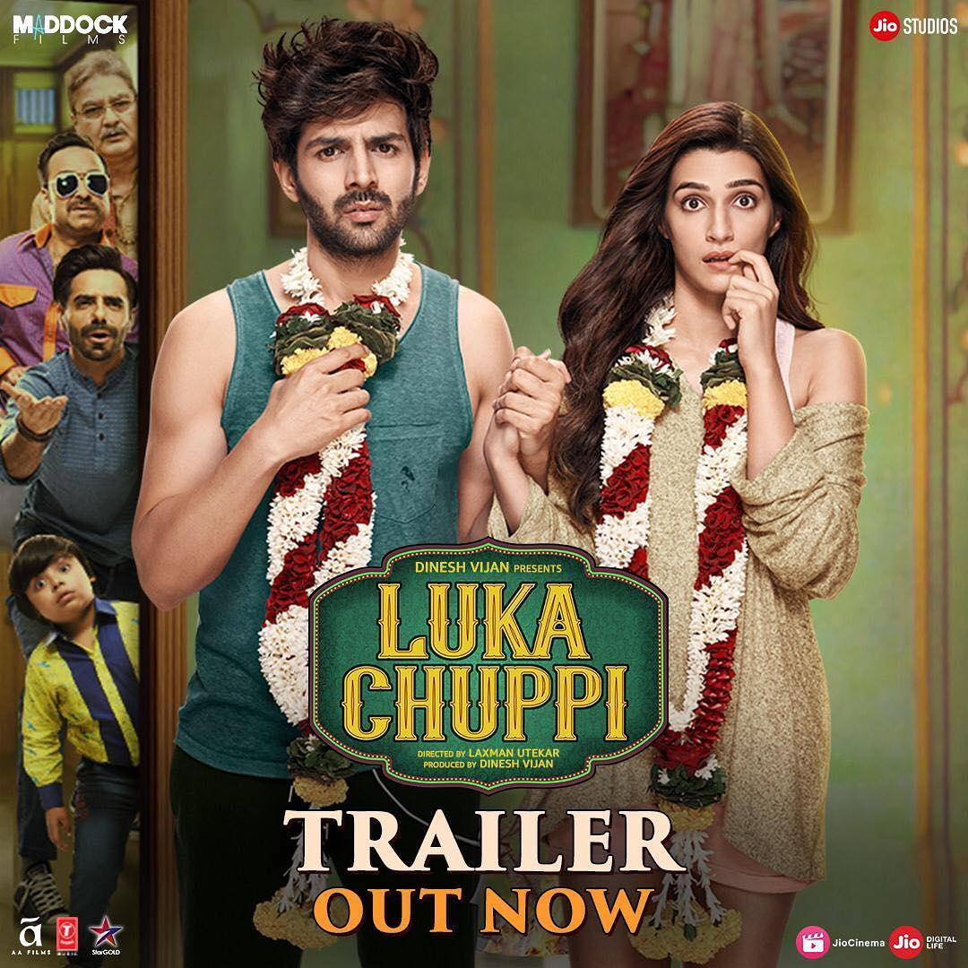 Luka Chuppi Song: Kartik Aaryan & Kriti Sanon's chemistry in the new song Photo makes us want to root for them