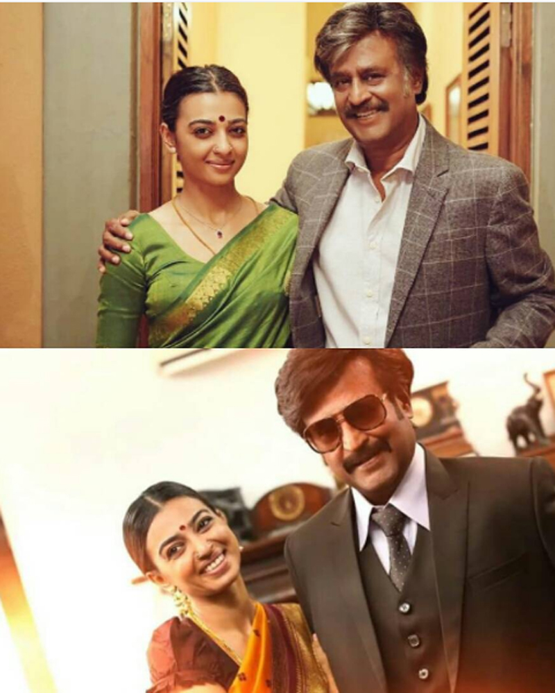 rajinikanth radhika make a lovable and unconventional couple in