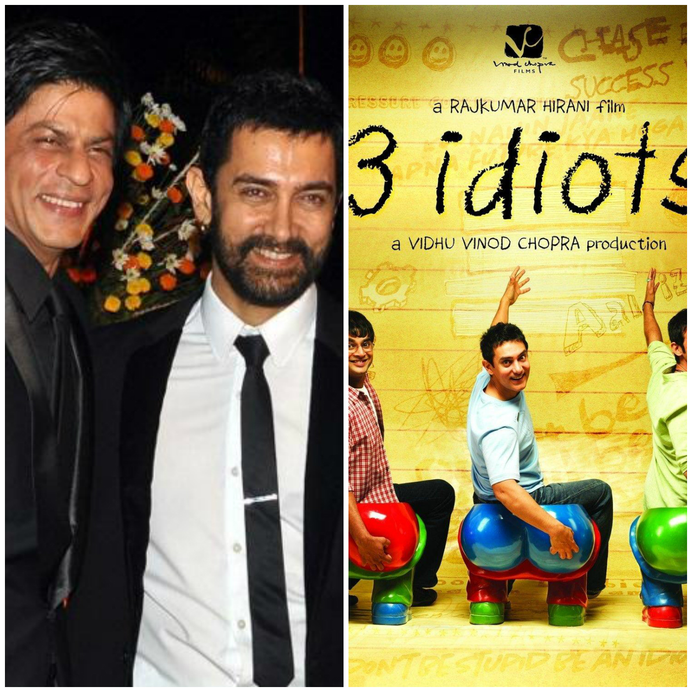 Video Alert Aamir Khan Reacts To Srks Comment On Being Part Of 3