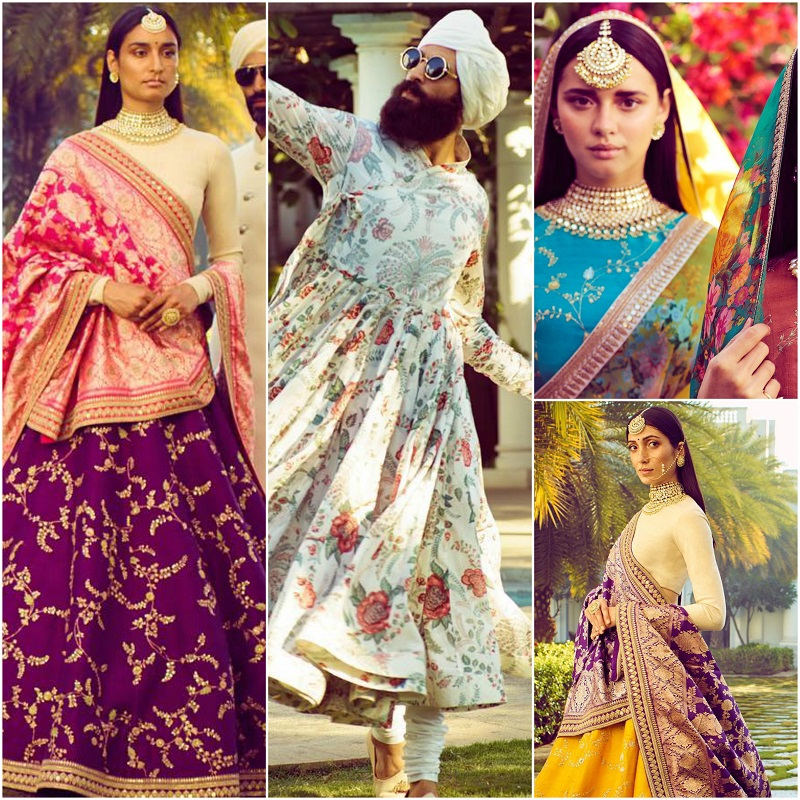 10bc52511957 Sabyasachi just dropped his Spring Summer 2018 collection on Instagram and  it's bright, vibrant & mesmerizing | PINKVILLA