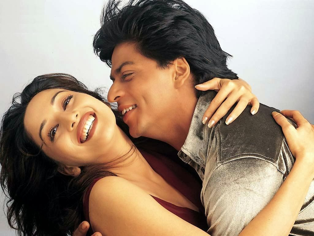 Image result for shahrukh khan madhuri koyla