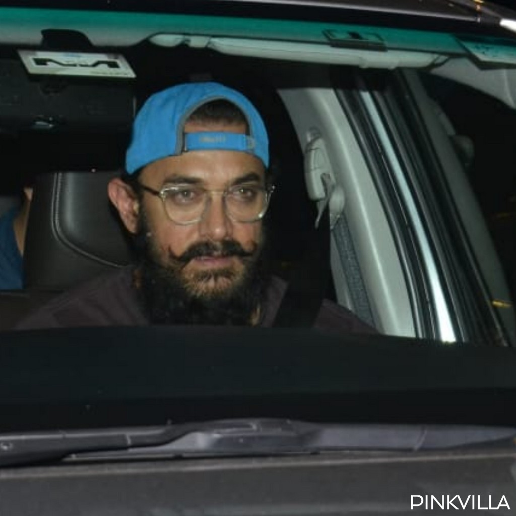 PHOTOS: Aamir Khan looks elated as he visits Bollywood's most loved diva Rekha on her birthday