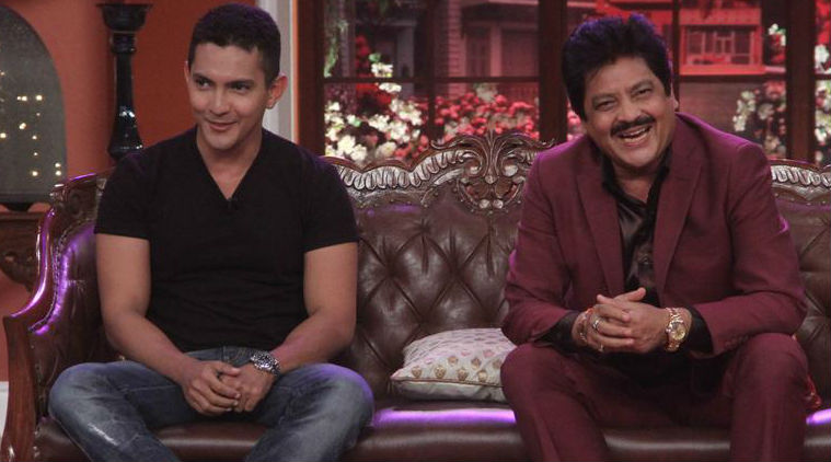Udit Narayan reacts to son Aditya Narayan's viral video