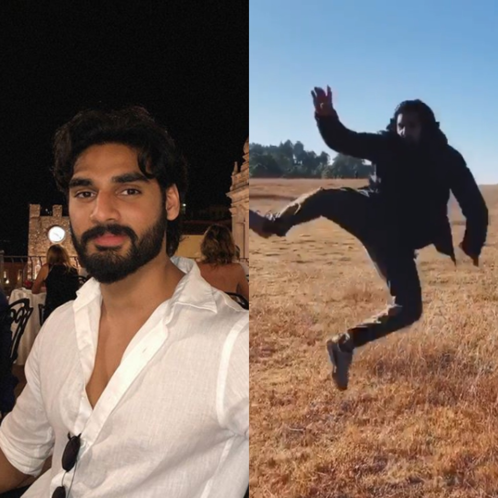 Tadap: Ahan Shetty gets ecstatic as first outdoor shooting schedule of the film is completed; WATCH Video