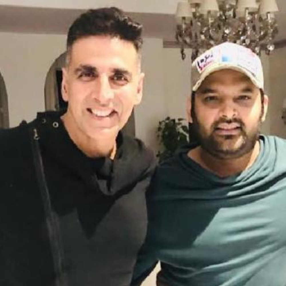 Akshay Kumar's reply to Kapil Sharma on his 'Good News' coming before his Good Newwz is cute and funny