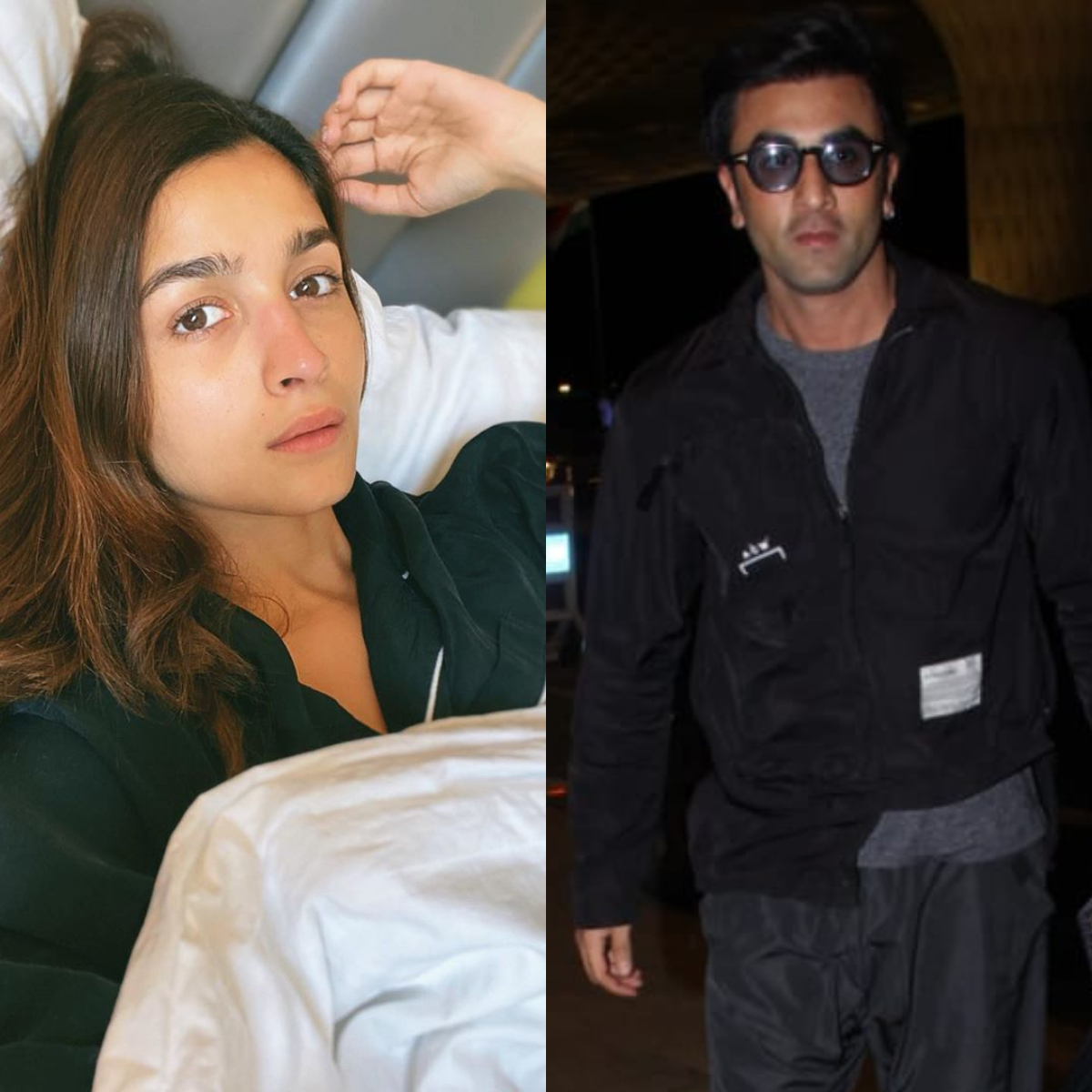 Alia Bhatt takes a breathtaking selfie in bed; Ranbir Kapoor celebrates a paparazzi's birthday at the airport