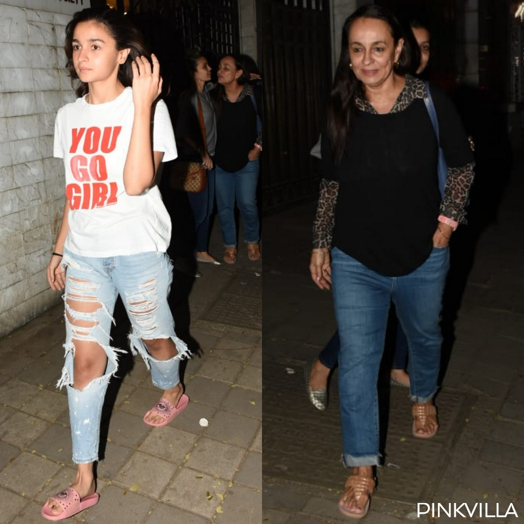 PHOTOS: Alia Bhatt enjoys her weekend with mom Soni Razdan as she heads out in the city