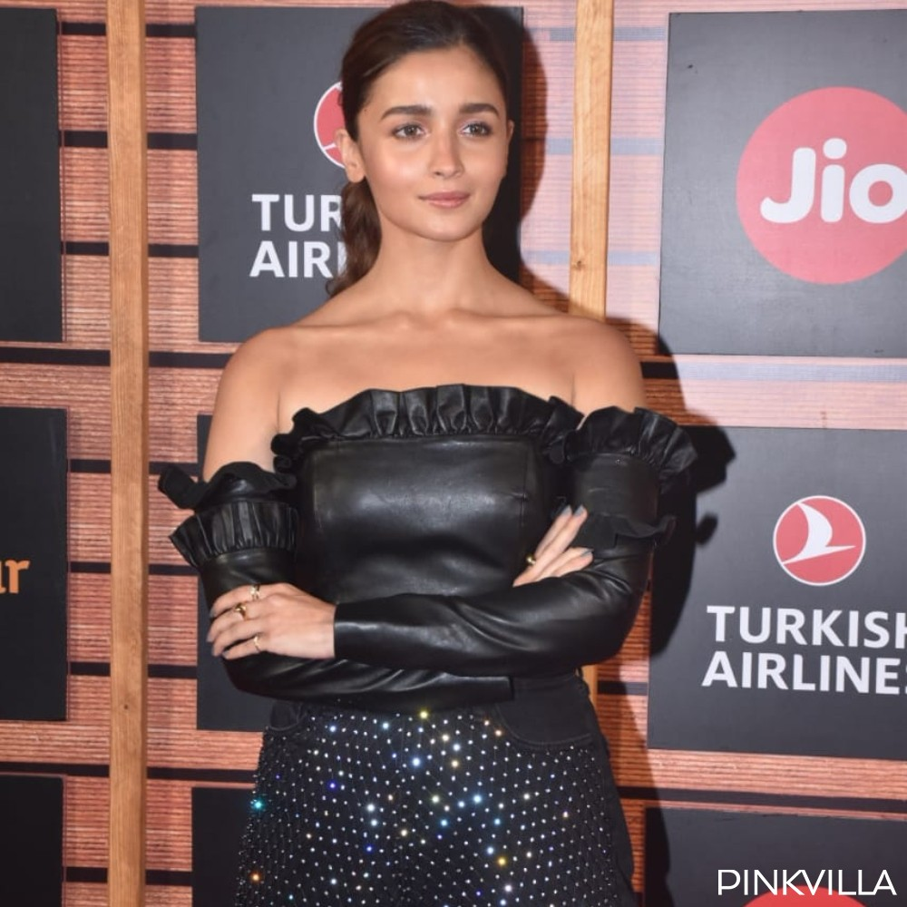 PHOTOS: Alia Bhatt makes a glamorous appearance in an embellished jumpsuit at MAMI 2019