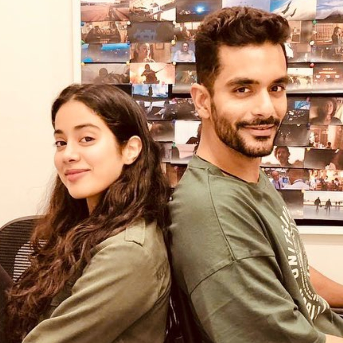 Angad Bedi Calls Flak On Gunjan Saxena The Kargil Girl Unfair Opens Up On Playing Janhvi Kapoor S Brother Pinkvilla
