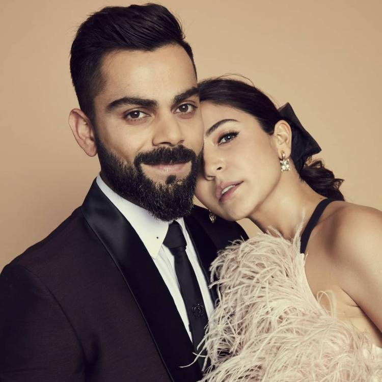 Anushka Sharma is all hearts for Virat Kohli as he scores a record breaking 7th double hundred