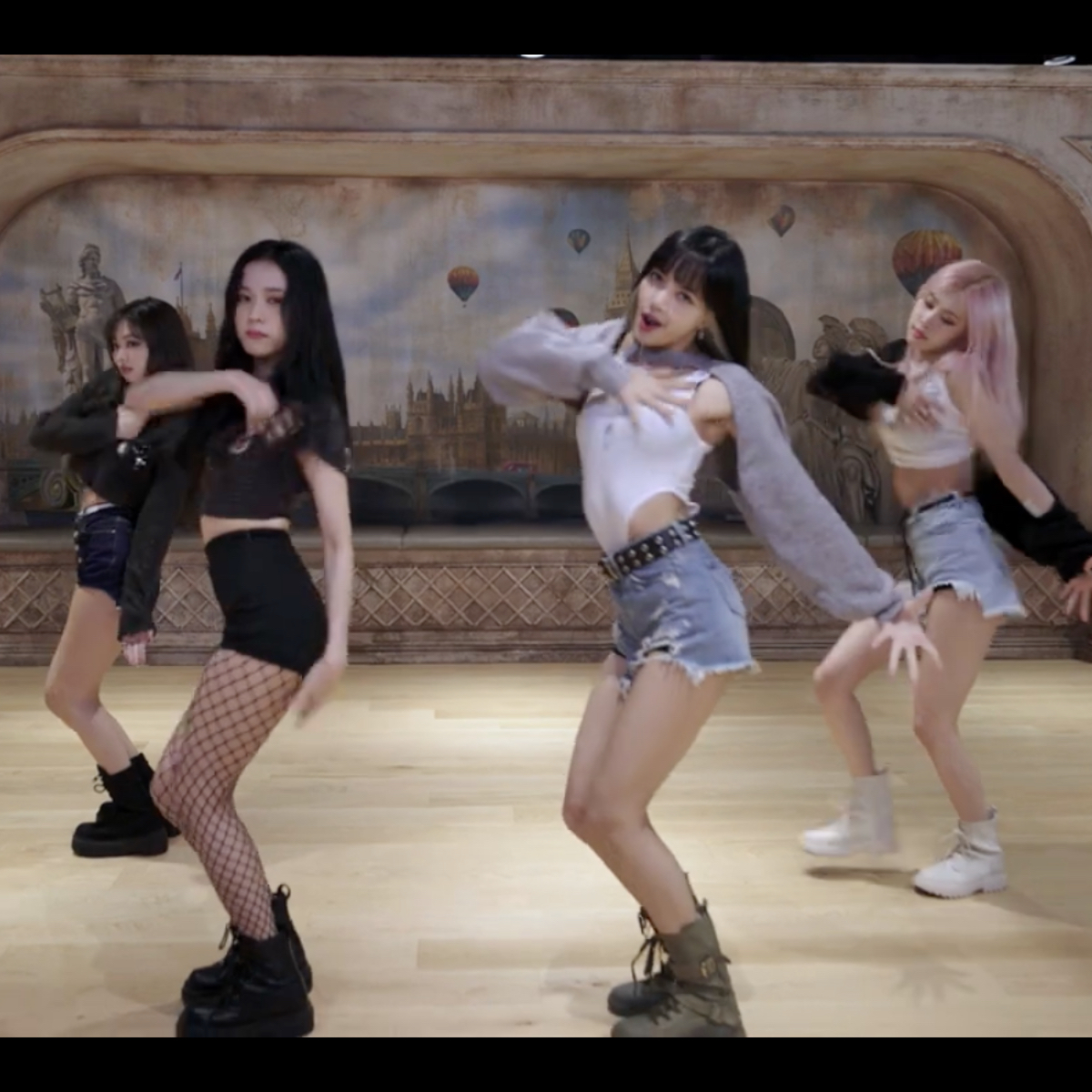 BLACKPINK takes fans behind the scenes into making of Lovesick Girls video  through dance practise clip; Watch   PINKVILLA