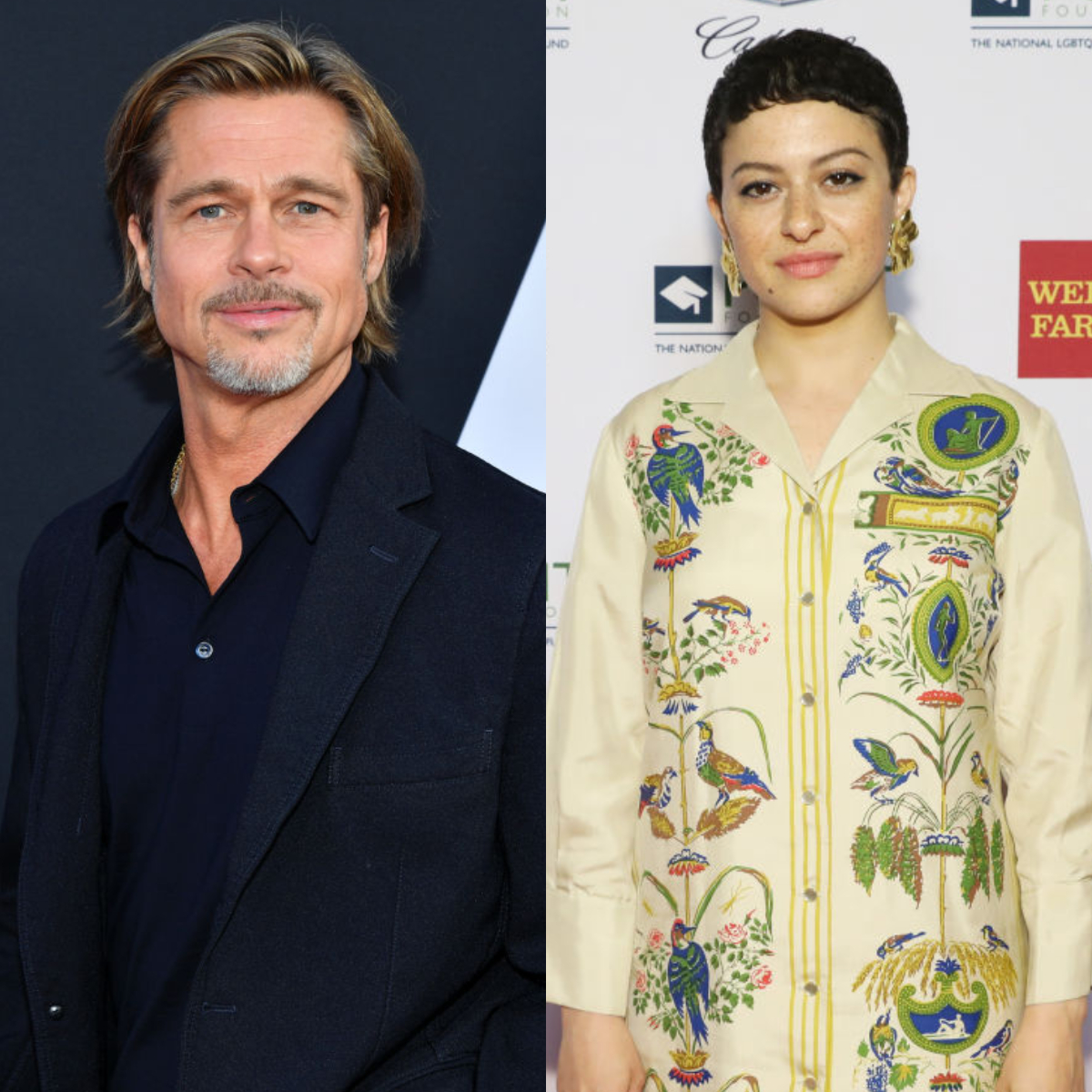 Brad Pitt sparks dating rumours with Alia Shawkat from Arrested Development after being spotted multiple times