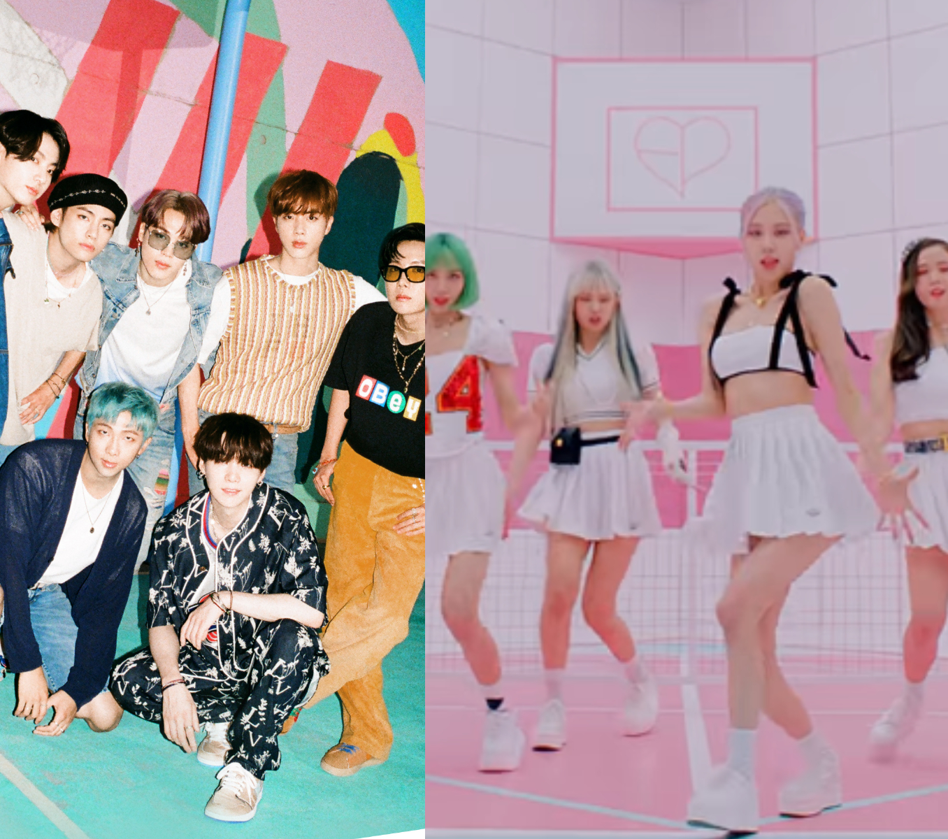 Bts Dynamite Or Blackpink Ft Selena Gomez S Ice Cream Which August Single Is Stuck In Your Head Vote Now Pinkvilla