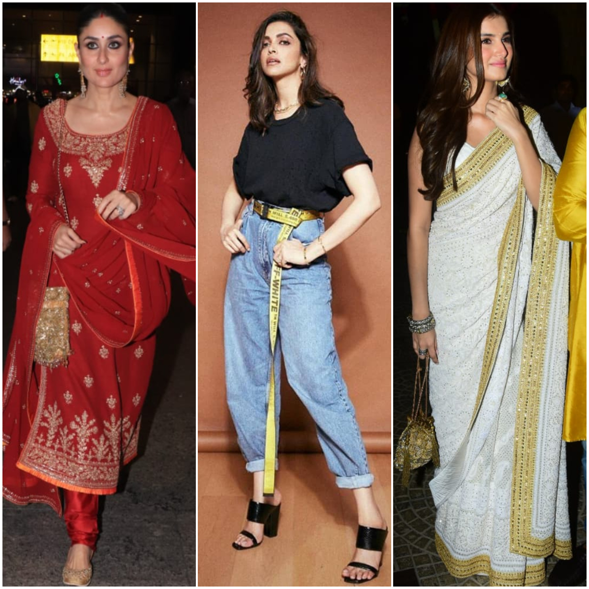 Kareena Kapoor Khan to Deepika Padukone; You NEED to see these celebrity looks from yesterday