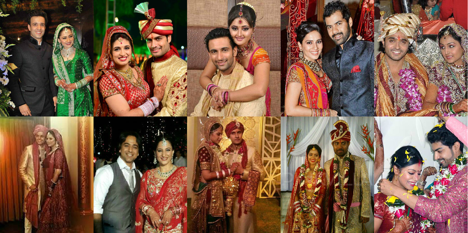 10 Celebrity Wedding Pictures Every TV Lover Should Have Seen