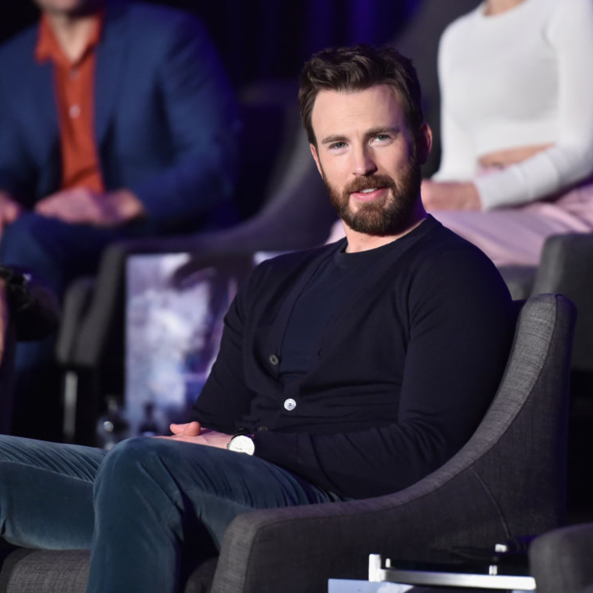 Captain America goes to Disneyland: Chris Evans spends the weekend at the theme park with his family; See Pics