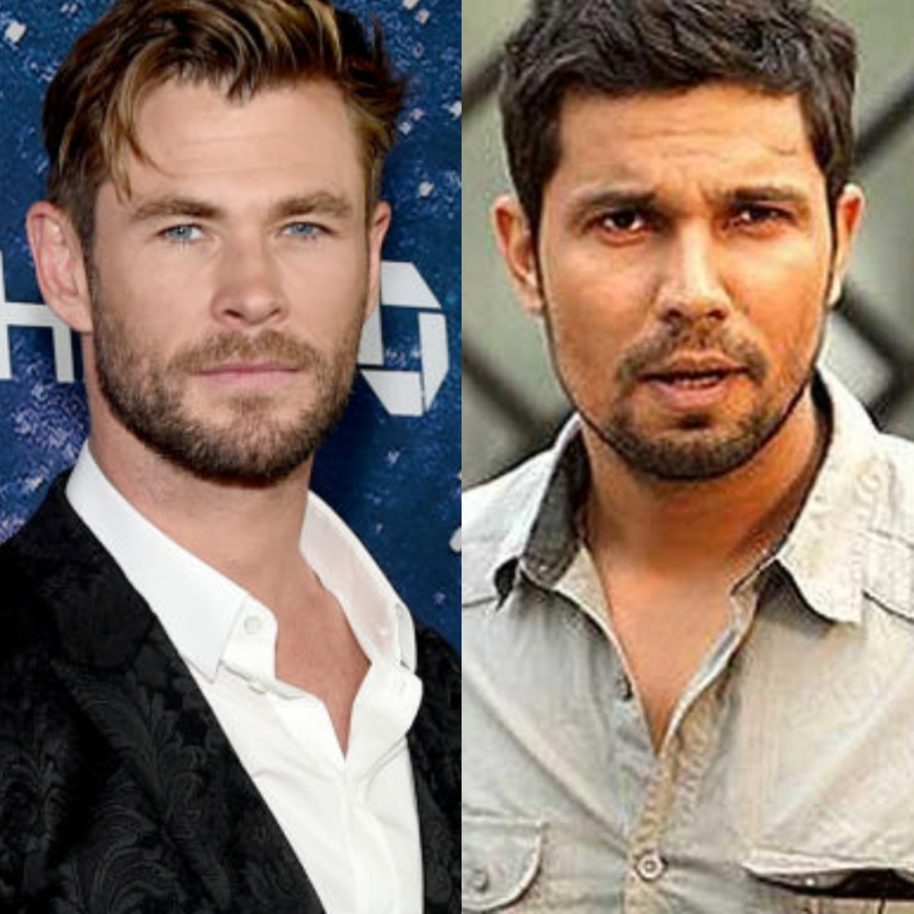 Chris Hemsworth Says The Action Sequence In Extraction Wouldn T Have Been Special Without Randeep Hooda Pinkvilla