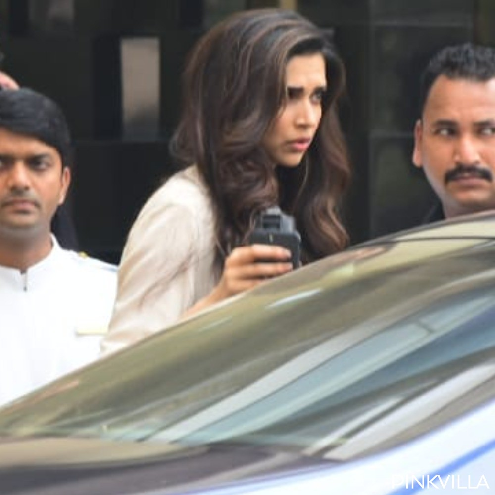 PHOTOS: Deepika Padukone steps out post a shoot and gets snapped in the city