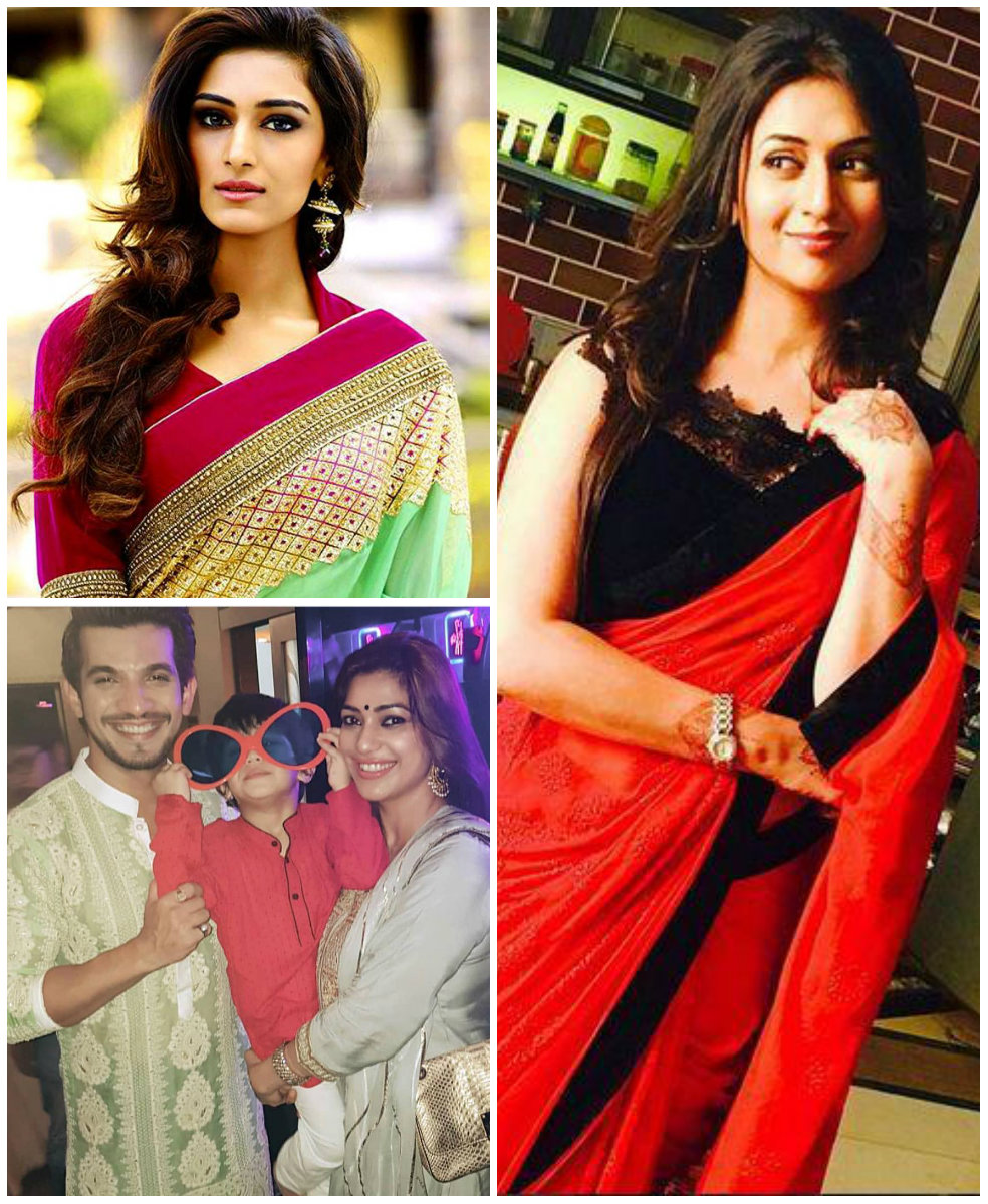 090b684a4 Happy Diwali 2018: Divyanka Tripathi, Erica Fernandes, Arjun Bijlani and  other celebs wish their fans | PINKVILLA