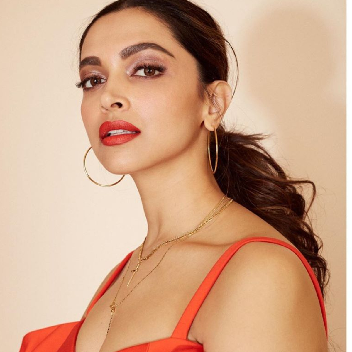 Deepika Padukone opts for a cropped ballroom gown and it is perfect for the party season
