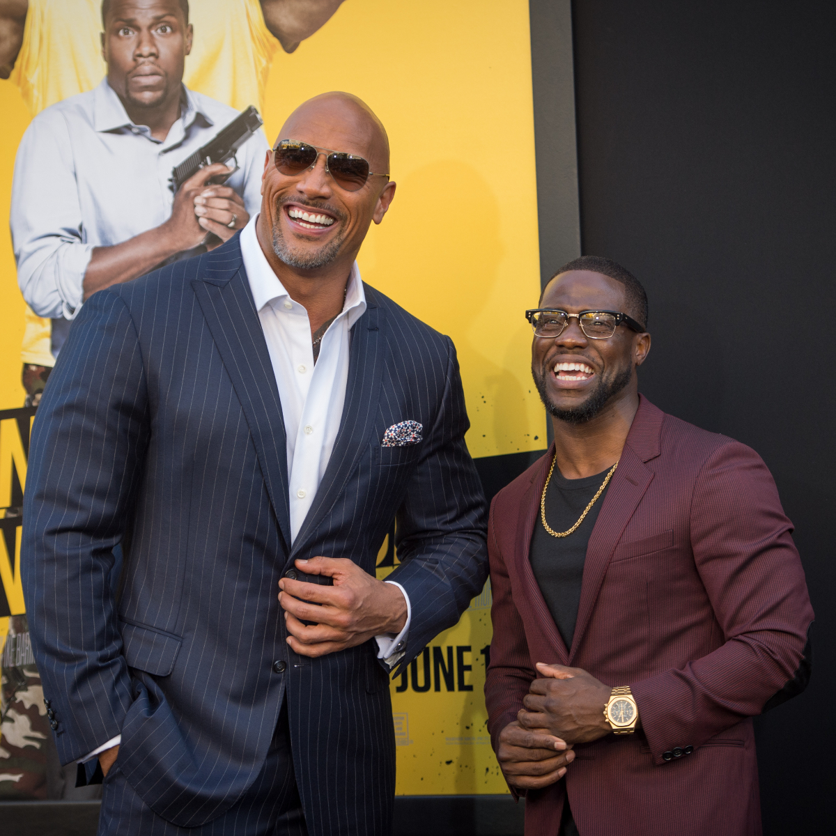 VIDEO: Dwayne Johnson carries The Rock doll for injured Kevin Hart: I always gotta take care of my son