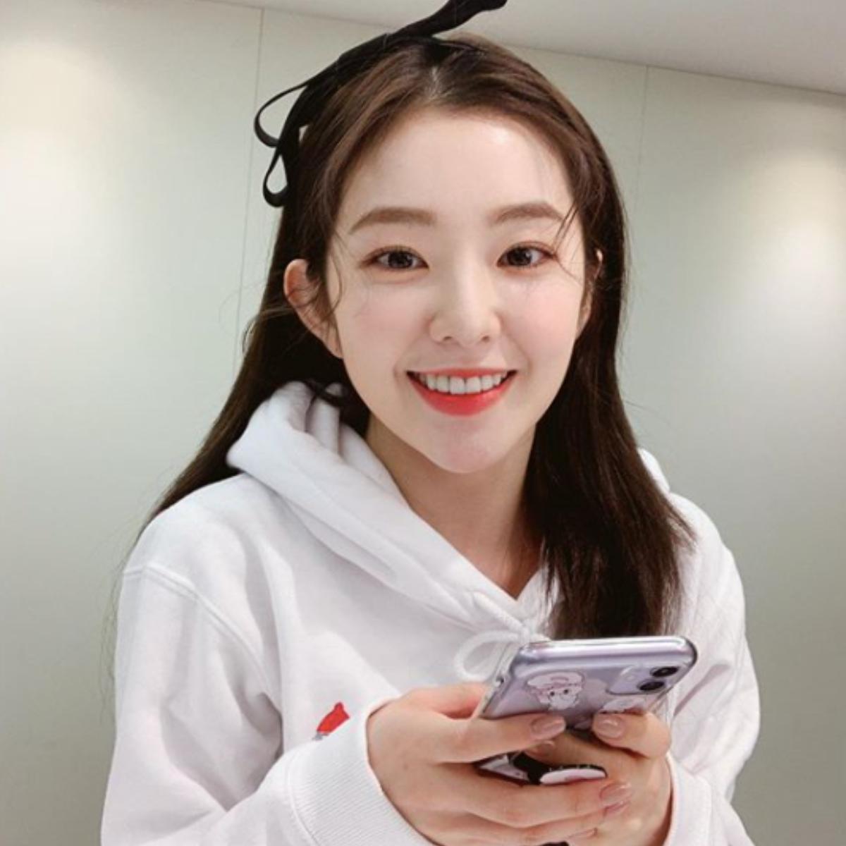 Irene finishes filming Double Patty