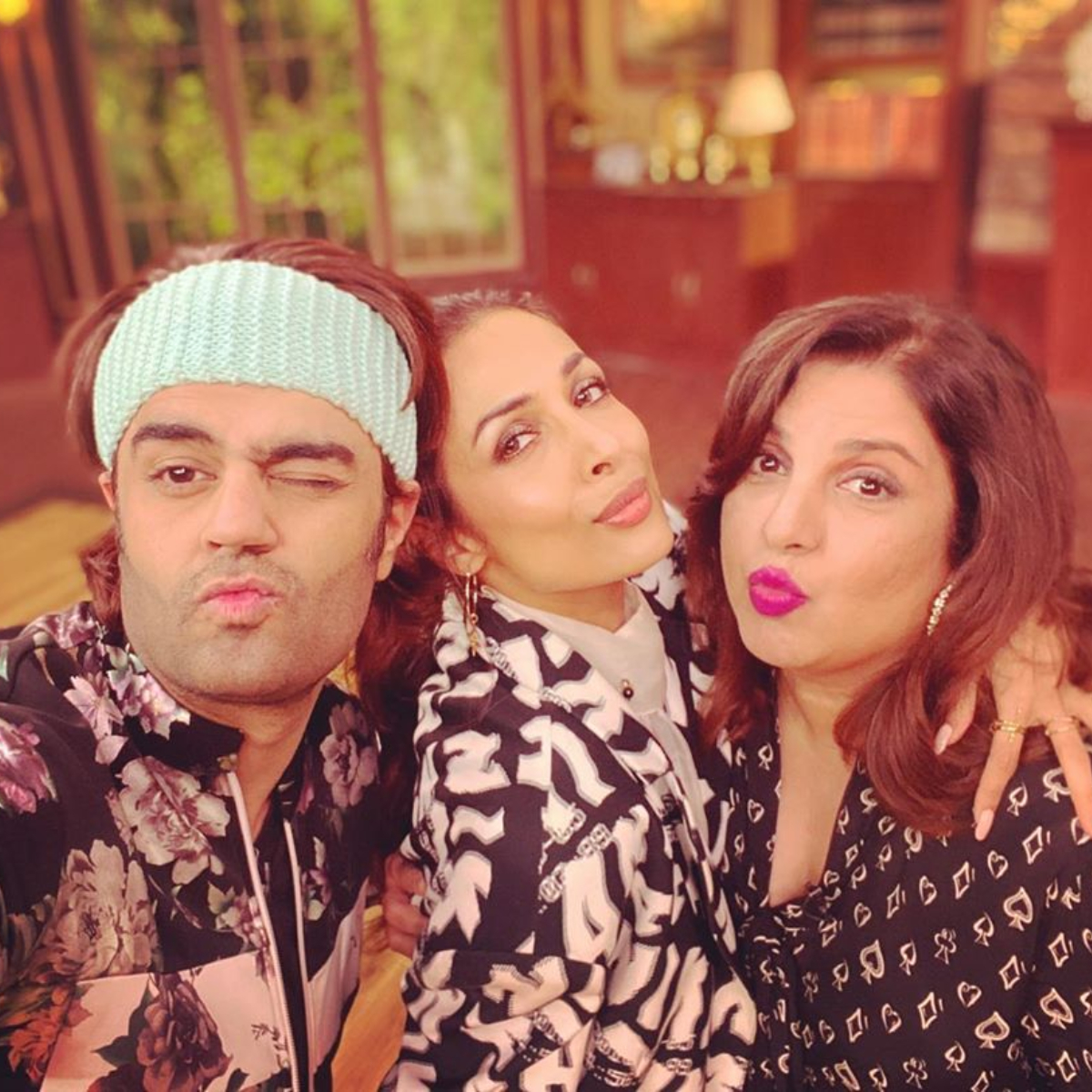 PHOTO: Malaika Arora and Maniesh Paul are Farah Khan's 'absolute favourites'; Check it out