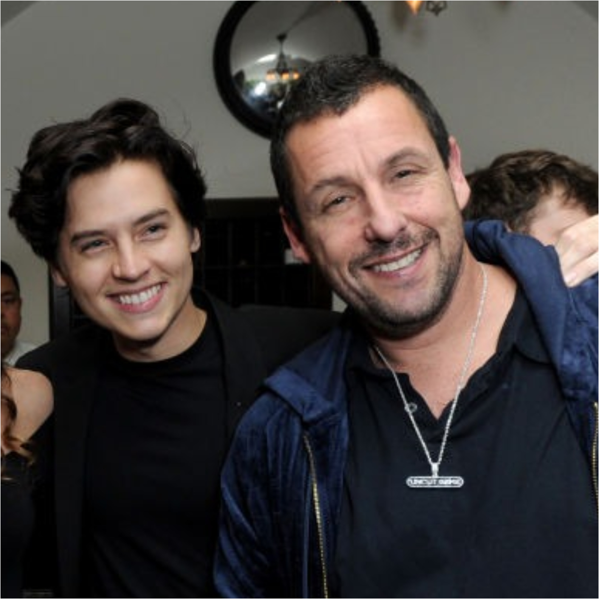 Former co stars Adam Sandler and Cole Sprouse REUNITE after 2 decades