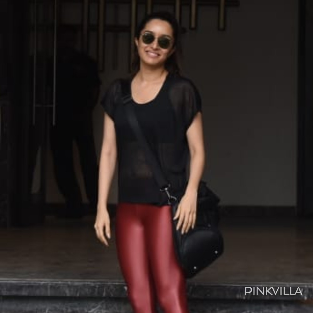 PHOTOS: Shraddha Kapoor is all things stylish as she gets papped at the gym