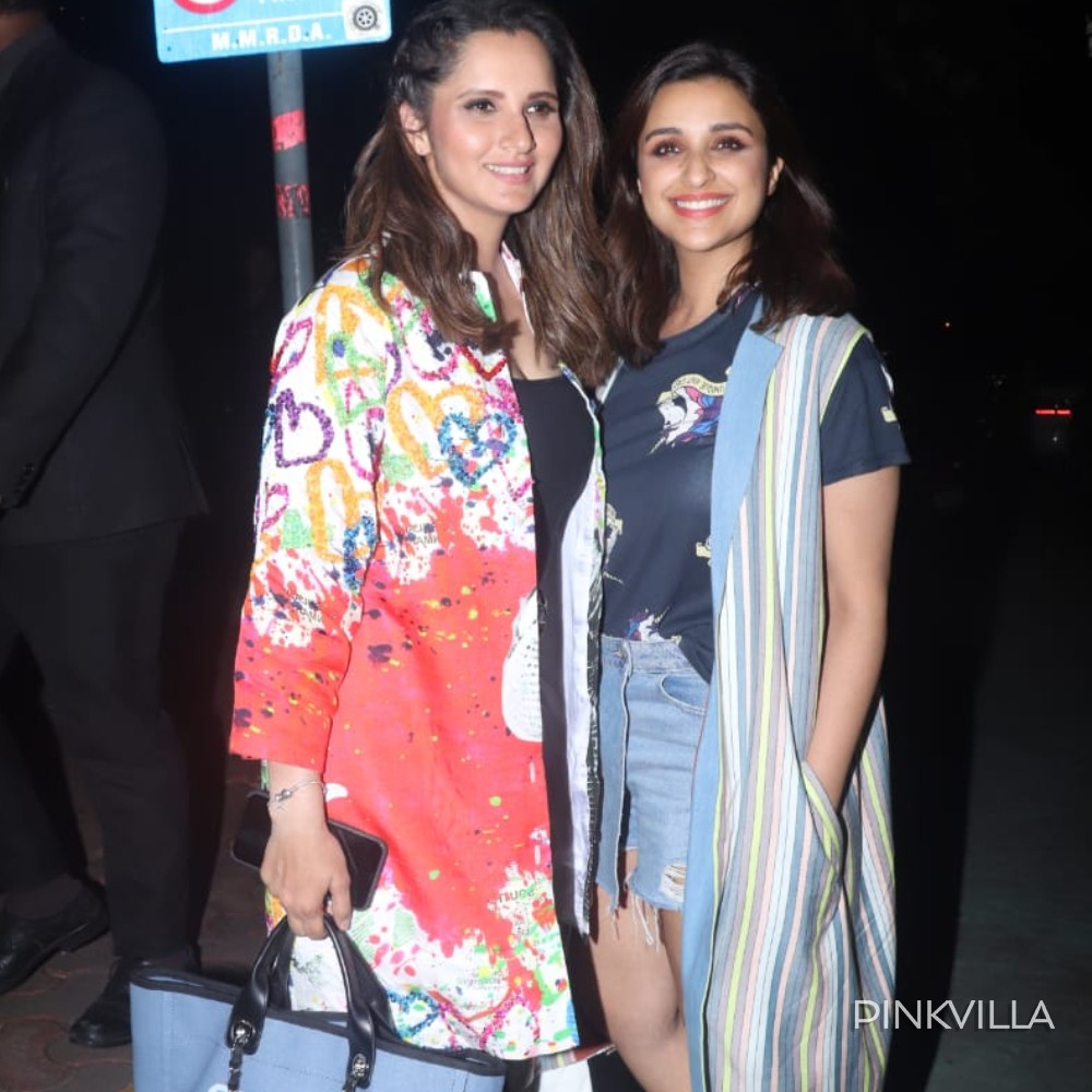 PHOTOS: Parineeti Chopra and Sania Mirza give us major BFF goals as they pose for the camera together