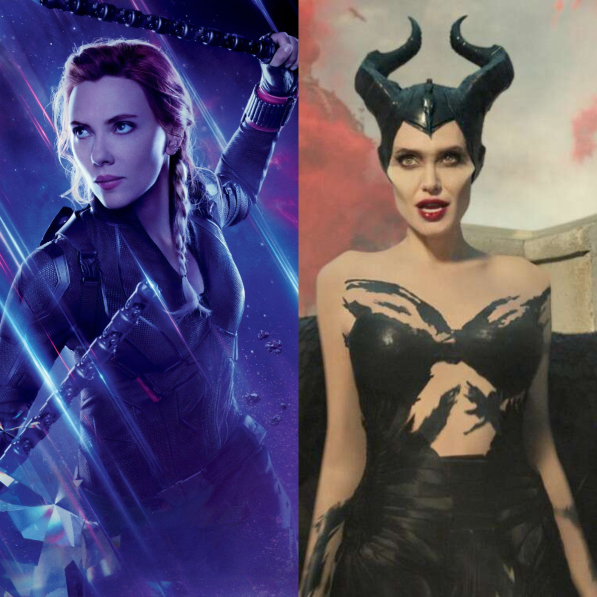 From Black Widow To Maleficent 5 Badass Female Characters