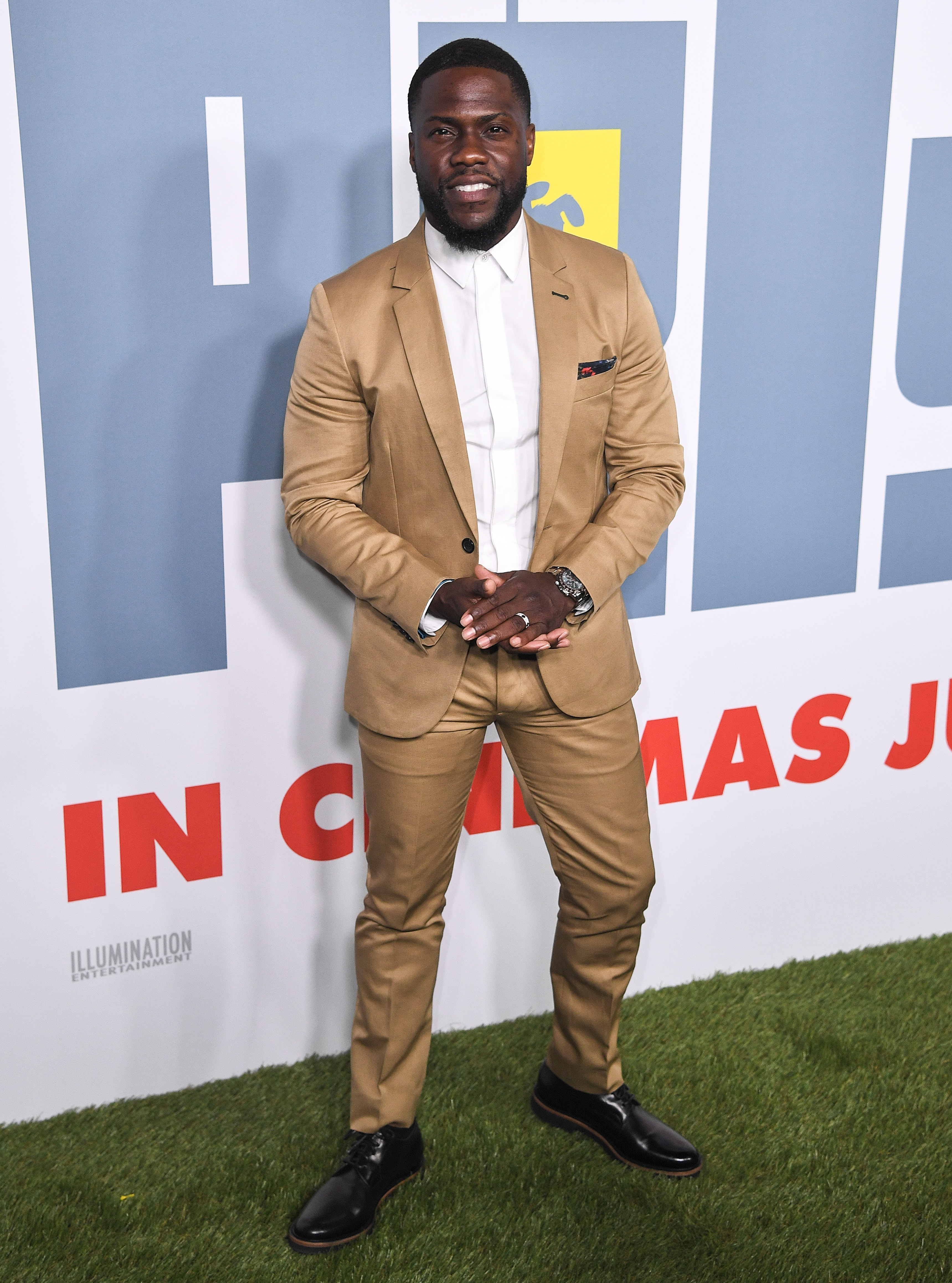 Kevin Hart heads back to work to promote Jumanji: The Next Level weeks after his deadly car accident