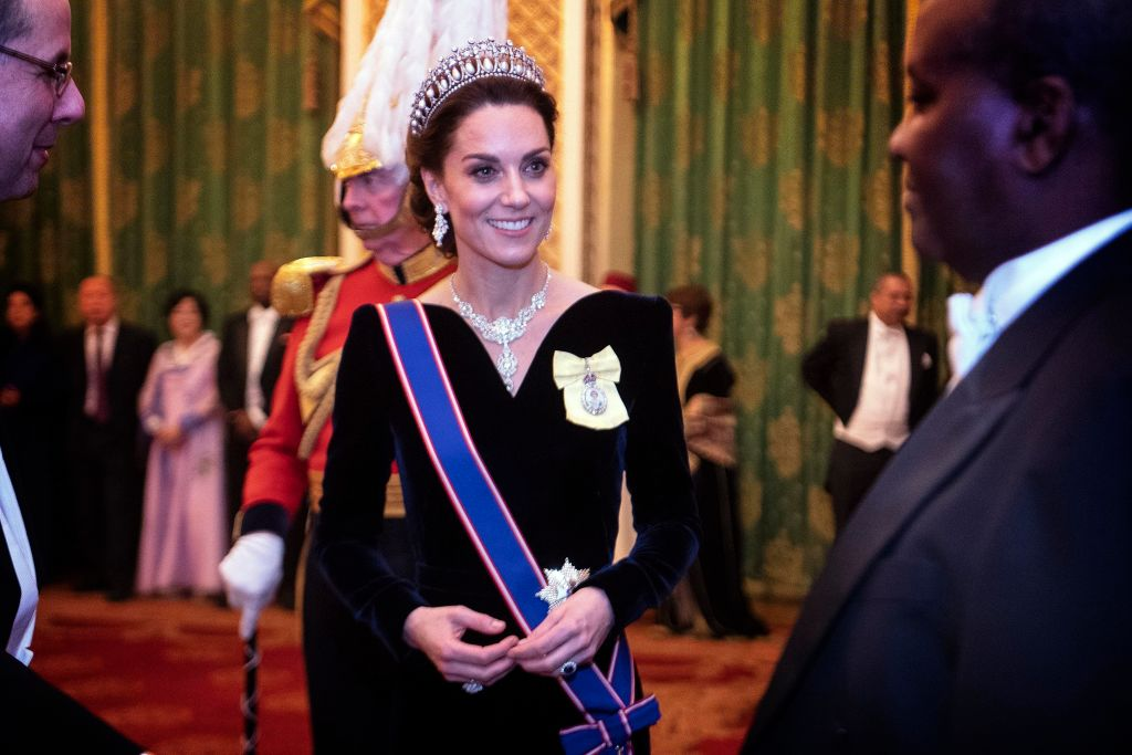 Did you know Kate Middleton's stunning diplomatic reception necklace is a gift from Nizam of Hyderabad?