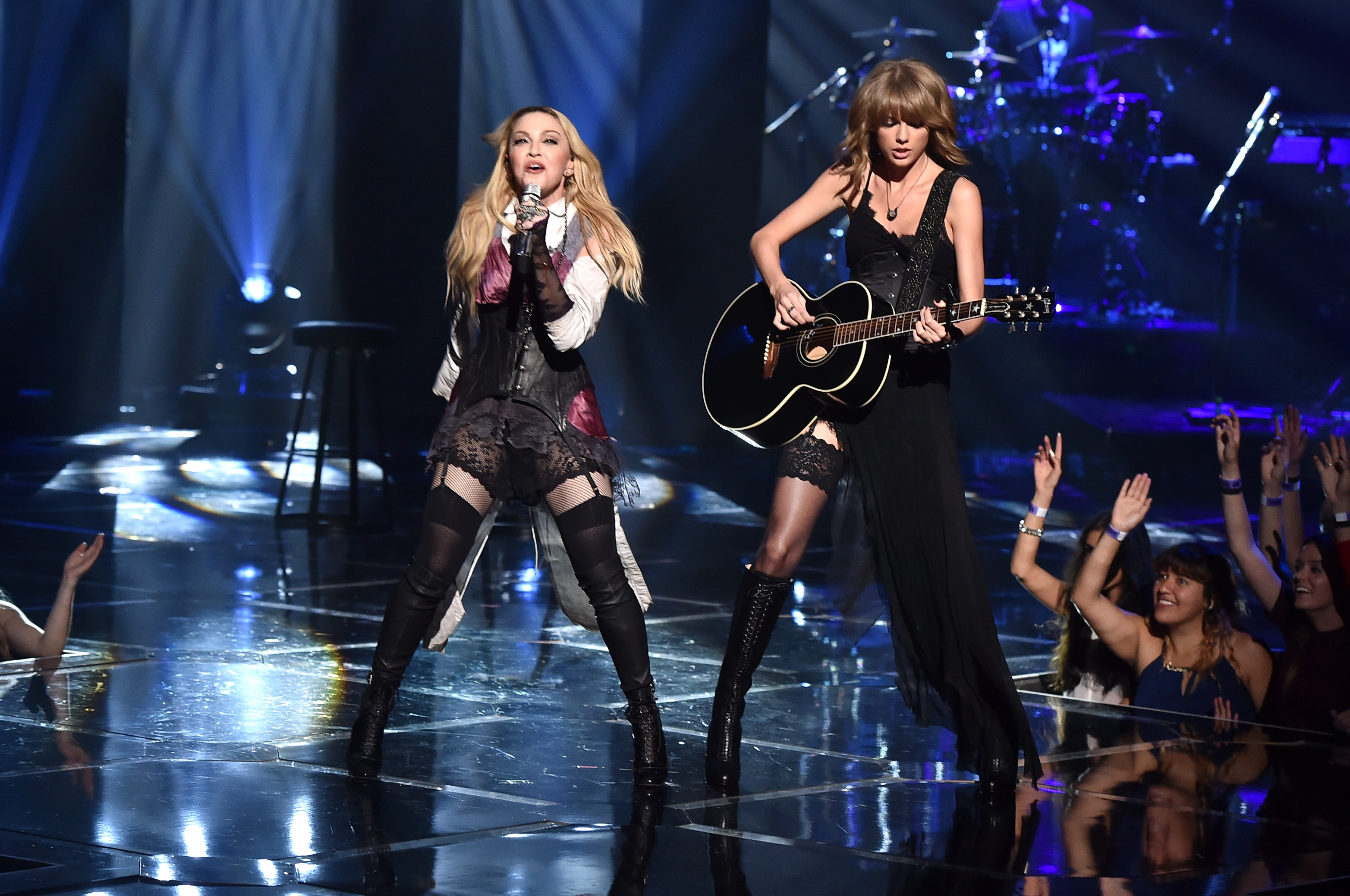 Taylor Swift shares her fangirl moment with Madonna as she loves her 'outstanding show'; See Pic