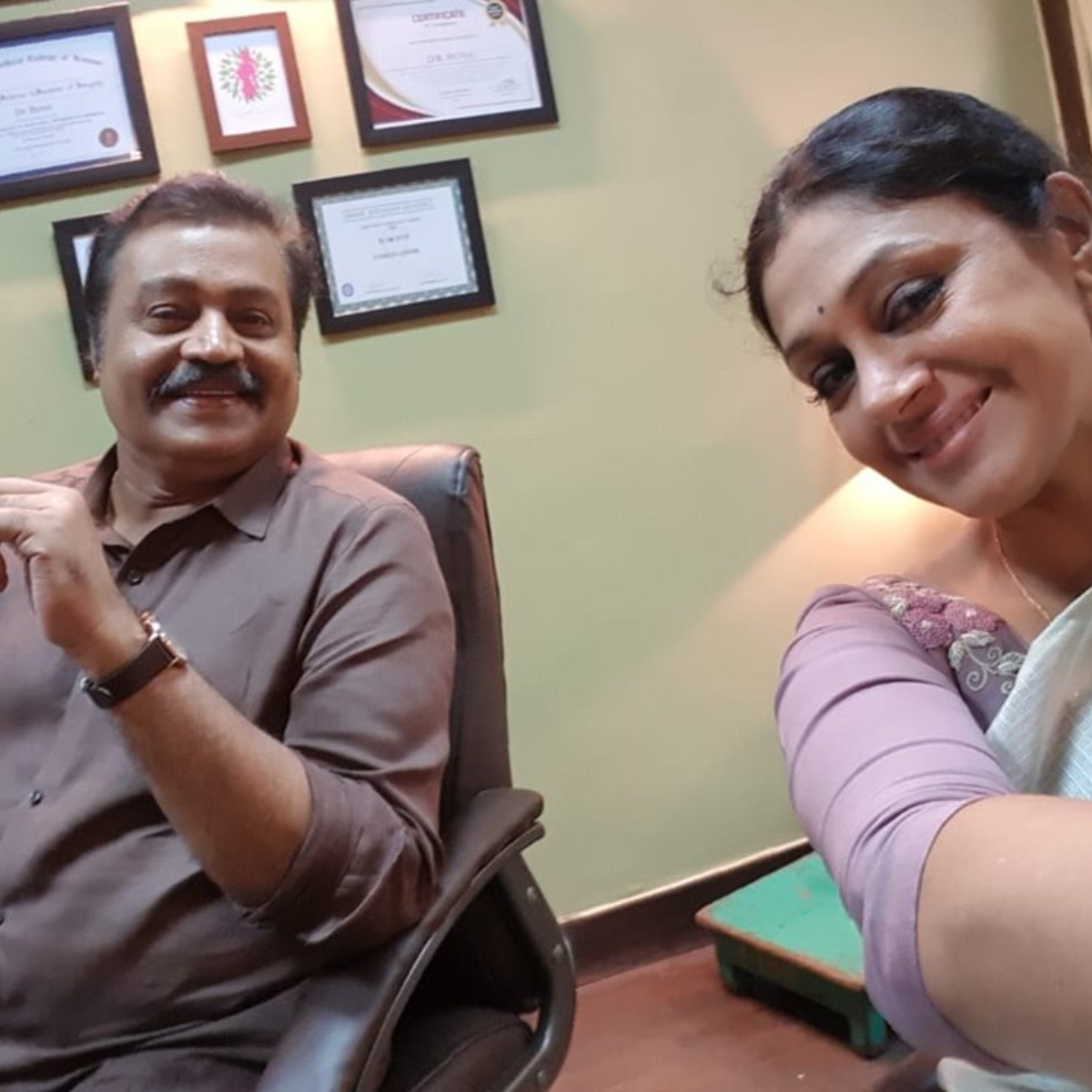 Manichitrathazhu stars Suresh Gopi and Shobhana to feature together in a film after 14 years; Read details