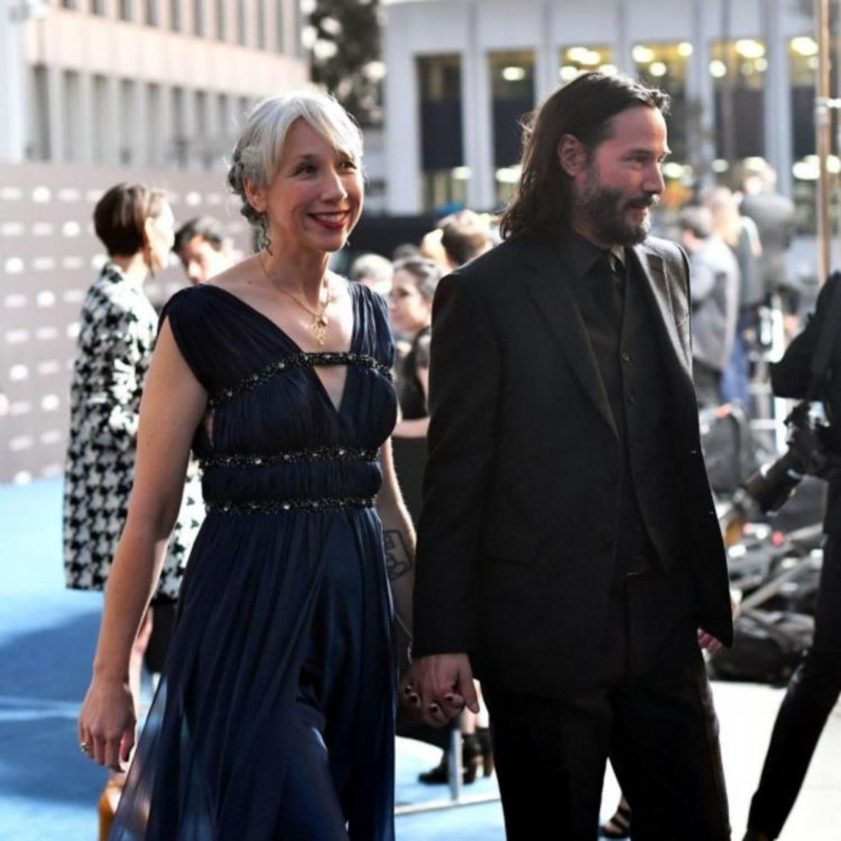 Keanu Reeves' girlfriend Alexandra Grant reveals why she loves her grey hair; Deets inside