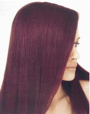 Burgundy Hair Color on Free For All  Which Color  Poll